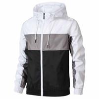 2020 männer kleidung designer herren winter jacken männchen männer windbreaker dünne mantel lange sleeve reißverschluss luxurys jacken laufende sportswear
