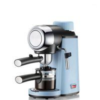 Máquina de café café expresso cafeteira semi-automática Cappuccino Moka Maker Bulid-in Leite Frofher 220V 50Hz Steam1