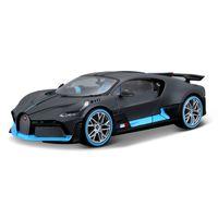 Bugatti Divo 1:24 Voiture de sport Simulation statique Simulation de métal moulé sous pression avec pièces en plastique Modèle de voiture de voiture