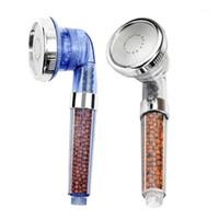 Nowe produkty Zdrowy prysznic Dysza Prysznic Dysza Negatywny Ion Spa Filtrowany Regulowany Trzy tryb Handheld1