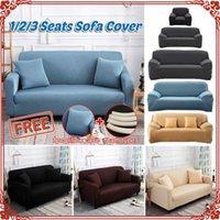Cubierta elástica para el sofá Sala de estar cubierta de sofá Sofá seccionador Sillón Sillón Spandex Estiramiento 1/2/3/4 Seaver