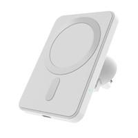 Support de support de chargeur de voiture sans fil magnétique pour iPhone12 Pro / Mini / Max Magsafe 15W Chargeur rapide Chargeur sans fil Chargeur sans fil
