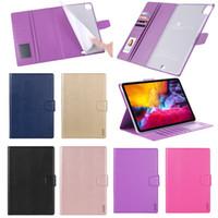 Hanman Mill PU Leather Wallet Case For iPad Air 10.9 10.2 Pro 11 10.5 9.7 2018 Mini 4 5 Samsung Tab P200 T290 T510 T500 T870 T720 T590 P610