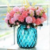 Rose pivoine silk artificiel fleur valentin cadeau de la Saint-Valentin petit bouquet famille fête mariage décoration artificielle rose