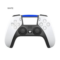 2021 PS5 PS4 için Kablosuz Bluetooth Denetleyici PS4 Şok Kontrolörleri Joystick Gamepad Oyun Denetleyicisi ile Paket Hızlı Kargo
