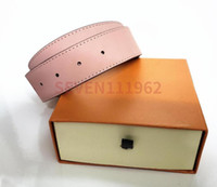 Hot Gifts Designer Gürtel für Herrengürtel Mode Gürtel Leder Business Gürtel Frauen Große 20 Farben mit Orange Box Großhandel
