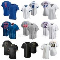 Hommes Enfants Femmes Baseball 2 Nico Hoerner Jersey 5 Albert Almora 66 Noel Cuevas 8 Ian Hall 40 Willson Contreas Cooperstown Hommes Enfants