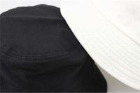 Damskie wiadro kapelusz na zewnątrz Sukienka Szeroka Fedora Kremowa Bawełniana Wędkowanie Łowienia Czapka Mężczyźni Basin Tanie Chapeaux Słońce Zapobiegaj Hurtownie Kapelusze