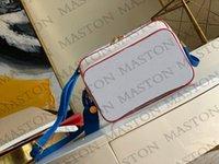 2021 أحدث رجل حقائب الكتف مصممين رسول حقيبة الرجال حقيبة كروسبودي حقيبة كرة السلة حقيبة الطباعة زهرة M45583 جديد Y27T #