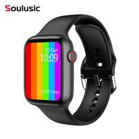 Série 6 Smart Watch 2021 IWO W26 Pro Smartwatch ECG Monitor de Frequência Cardíaca Temperatura impermeável PK IWO 8 13 para Apple Android