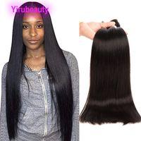 Indien 100% Virgin Holid Cheveux Extensions 4 pièces / Lot Long pouce 30-38inch Wave pour le corps Straight en gros de quatre paquets