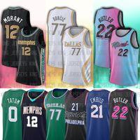 12 ja 22 Jimmy 14 Tyler 77 Luka Butler Herro Doncic Morant 21 Joel 0 Jayson Embiid Tatum Basketball Trikots
