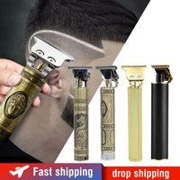 Elektryczne Hair Clipper Włosów Trymer Fryzjer Fryzura USB Akumulator Broda Trymer Mężczyźni Bezprzewodowa maszyna do cięcia włosów Q1204