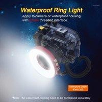 67mm impermeabile subacquea subacquea anello LED Light Light 40m Impermeabile per fotocamera o custodia Caso1