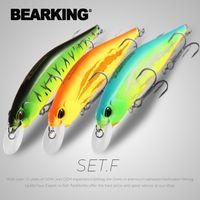 Bearking 3 unids por juego 12 cm 18 g SP Jerkbaits Modelo de pesca Hot Modelo Hard Bait Minnow Calidad profesional Piedra Profundidad1-1.8m 201103