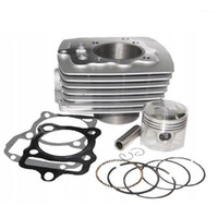 Kit de cylindre de moto d'argent STD 56.5mm Big Bore 62mm pour Keeway Superlight 125 125CC 150CC1