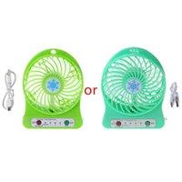 Portable 5w Outdoor LED LED Lüfter Luftkühler Tisch USB-Lüfter ohne 18650 Batterie WXTB1