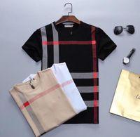 Freier Transport von hochwertigen Baumwollt-shirts Sommer, 2021, europäisches und amerikanisches kurzärmliges T-Shirt Mode und lässig gedruckt m # 07