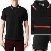 2020 Italia estilista clásico polos camisa hombres abeja bordado collar para hombre casual algodón polo camisa serpiente tigre tee tops poloshirt