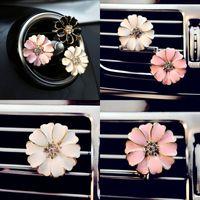 Автомобильный парфюмерный клип выпускные летательные клипы цветок автоматический освежитель воздуха кондиционер вентиляционная клип домой эфирное масло диффузор для автомобиля LXL113 33 N2