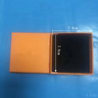 Accesorios de joyería anaranjada de moda adecuados para el collar Pendientes de anillo de pulsera (la caja no se vende por separado)