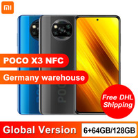 Global Version Xiaomi POCO X3 NFC 6GB 64GB 128GB Smartphone ...