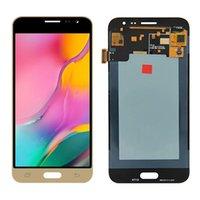 Süper AMOLED SAMSUNG GALAXY J3 2016 J320F J320G J320M J320 J320V LCD Ekran Dokunmatik Ekran Digitizer Meclisi Toptan Yedek Parçalar