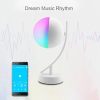 Modern Wifi Smart Table Lamp RGBW 7W Dimmable Timer Switch Alexa Google Home Voice Control LED Desktop Night Light Intelligent Life