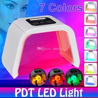 جديد حار بيع 7 ألوان الصمام الفوتون قناع ضوء العلاج PDT مصباح آلة الجمال علاج الجلد تشديد الوجه حب الشباب المزيل المضادة للتجاعيد
