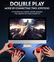 4-en-1 de la estación de arcade retro con cable USB Rocker Fighting palillo del juego palanca de mando para cambiar de juego de consola vs x12 x40 buen regalo