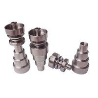 2021 Универсальный 6 в 1 Титановый ногтя 10/14/18 мм женский и мужской бессмертный картон для ногтей для стеклянной трубы или силикона
