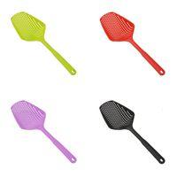 Plástico Gran Cuchara con fugas Puro Color Puro Filtro de Drenaje Sin Drenaje Cocina Gadgets Protección Medio Ambiente 1 76HD J2