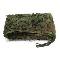 Tende e rifugi 3m * 5m Woodland Camouflage Net Hunting Camp Camo Reticolato Shooting Nascondi Army1