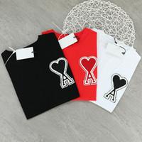 21SS Frauen T-shirt Designer Kleidung Deisgner New Ins Männer Frauen Liebhaber Mode Marke Liebe Brief Handtuch Stickerei Lose c