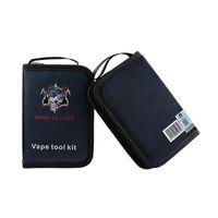Original Demon Killer Kit de Ferramentas E Cig Vape Bag Com Cerâmica Pinça Alicate cortador escova de limpeza da bobina Jig Para DIY Atomizers DHL grátis