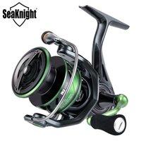 Serie de Saknight Brand WR III 5.2: 1 Reel de pesca 17LBS 10BB Spinning Reel 2000/2500/3000/4000 Bobina de pesca para pesca Q1123