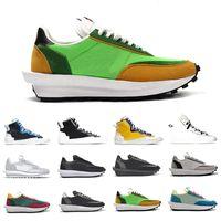Blazer Orta NYC Güvercin X LDV Waffle Daybreak Erkek Koşu Ayakkabıları Siyah Naylon Varsity Mavi Çam Yeşil Gusto Kadın Erkek Spor Sneakers