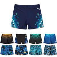 men swimsuit fashion printed swimming trunks Shorts Wear Bathing Suit boy Swimwear Swim Briefs style night