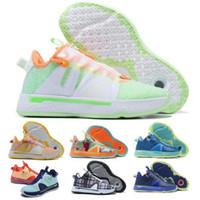 PG Paul George 4 uomini scarpe da basket scarpe da ginnastica Gatorade Digi Camo Green Plaid Gamer Esclusivo Citrus Oreo GX Autheartic Tenis Scarpe da allenatore