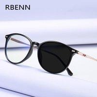 RBENN BRAND DESIGNER نظارات القراءة PhotoChromic النساء الرجال الحبيشون الإطار البصري Presbyopia النظارات مع عدسة CR-39 +1.75