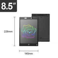 8,5-Zoll-Kinder-LCD-Schreibzeichnungs-Tablet-bunte Bildschirm-Doodle-Board mit stylus elektronisches Graffiti-Pad-Schreibvorstand schwarz