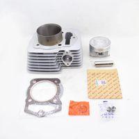 Silver / Noir Nouveau Kit de cylindre de moto de haute qualité de haute qualité 69mm Bore pour IRBIS XP250P XP 250 p 250cc 169fmm hors route Dirt Bike1