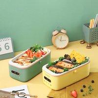 300W Caixa de almoço elétrico com compromisso inteligente arroz fogão pote mini multicooker liner cerâmico sem água com display digital 1L 201015