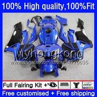 Injection For HONDA CBR 600RR CBR600F5 CBR600RR 2005 2006 48HM.252 CBR600 RR 05-06 Black blue CBR 600 CC 600F5 600CC F5 05 06 OEM Fairing