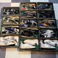 Mens designer Rockrunner Sneakers Camouflage En Cuir Plate-forme Plateforme Entraîneurs Stud Rivet Runner Shoes Meilleure qualité Box de luxe 264