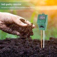 3 en 1 Sol Humier PH Mètre Home Jardin Plant Fleurs Sol Soleil Soleil PH Testeur Pointeur de jardin d'extérieur Testeur d'analyseur