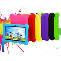 "7 ""Kids Tablet PC Android Quad Câmera Dual Camera 8GB WiFi Multitouch Multitouch com pacote Xmas"