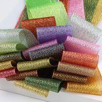Geschenkverpackung Glitter Bänder 34 Farben Handgemachte Blumengeschenk Geburtstag Kuchen Festival Geschenk Geschenk Glitzer Bänder