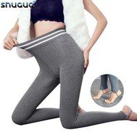 Snugug Automne Hiver Fitness Leggings Femme Épaissement à pied Épaississant Imitation Pantalon de yoga Slim-Fitting