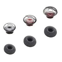 För Plantronics Voyager 5200 Bonters Eargels Earbuds Äkta tillbehör Byte Öronknoppar Tips Geler 3 Storlek med skumskydd